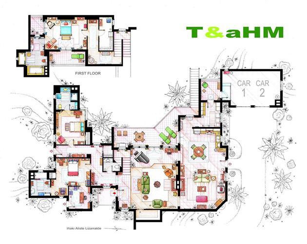 Famous-Television-Show-Home-Floor-Plans-10