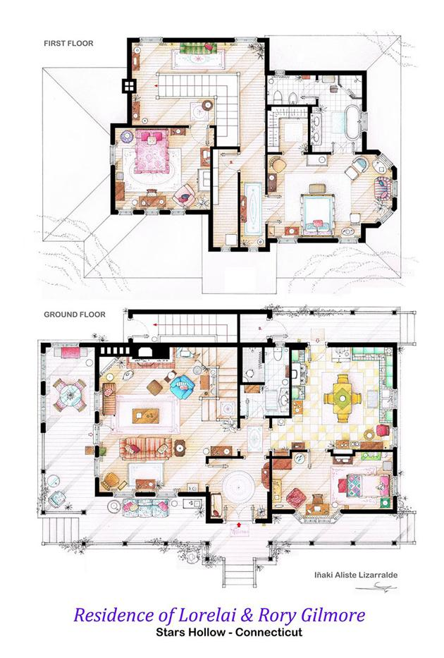 Famous-Television-Show-Home-Floor-Plans-11