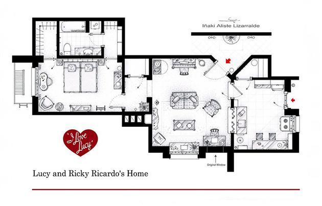 Famous-Television-Show-Home-Floor-Plans-12