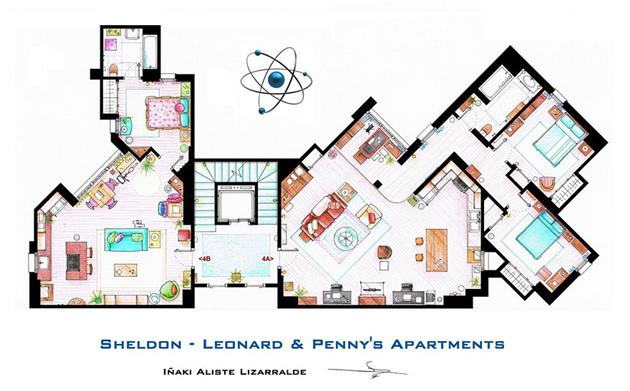 Famous-Television-Show-Home-Floor-Plans-15
