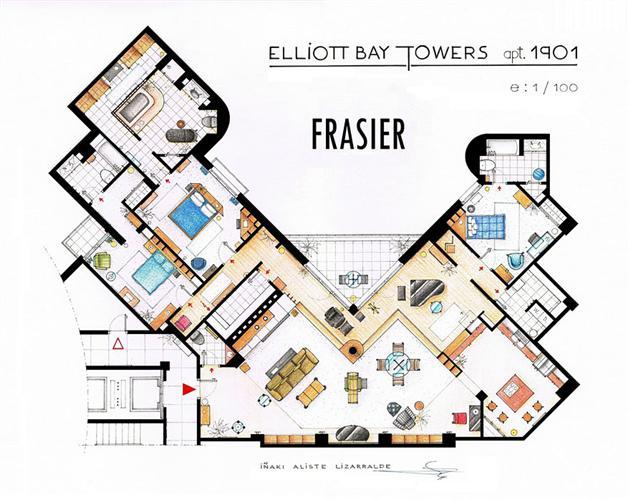 Famous-Television-Show-Home-Floor-Plans-16
