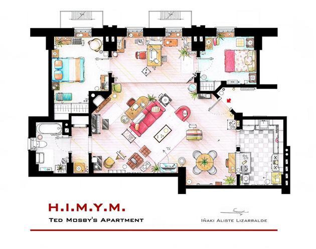 Famous-Television-Show-Home-Floor-Plans-18