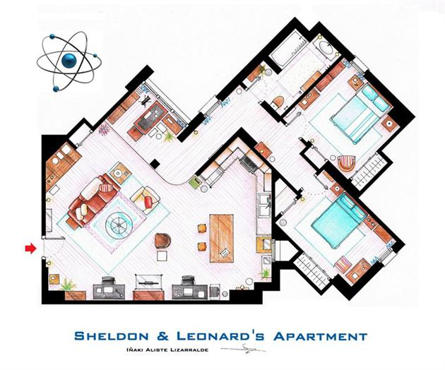 Famous-Television-Show-Home-Floor-Plans-2