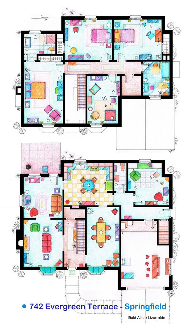 Famous-Television-Show-Home-Floor-Plans-3