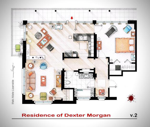 Famous-Television-Show-Home-Floor-Plans-4