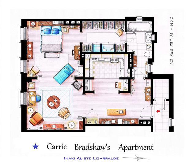Famous-Television-Show-Home-Floor-Plans-5