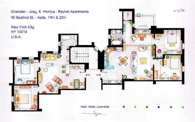 Famous-Television-Show-Home-Floor-Plans-6