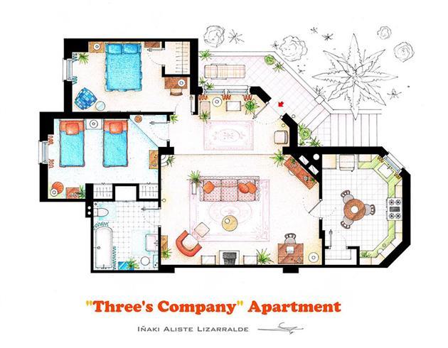 Famous-Television-Show-Home-Floor-Plans-8