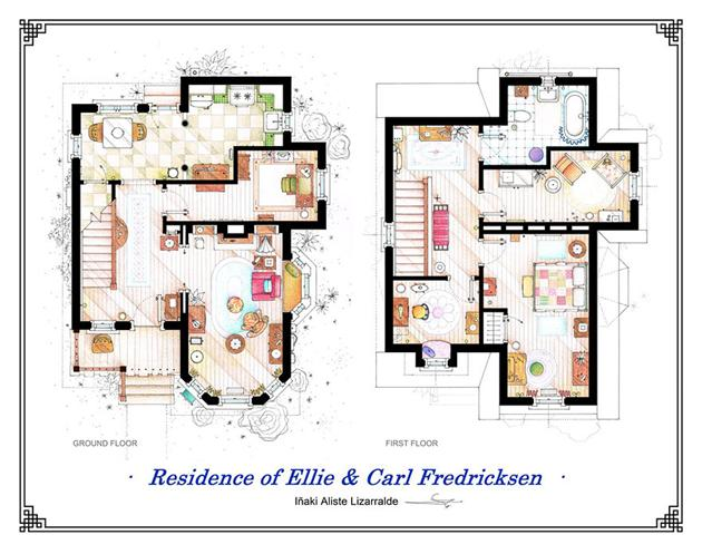 Famous-Television-Show-Home-Floor-Plans-9